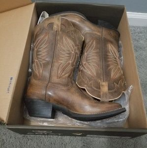 "Airiat 11"" shaft Round Up Outfitter boot"